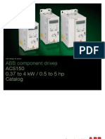 ACS150 ABBcomponent Drives Catalog REVE En