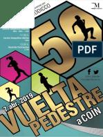 Normativa 50 Vuelta Pedestre Coín