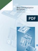SIP-2008 15 Relay Communication Equipment A5 En