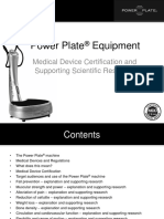 Power Plate and MDD Scientific Support Document
