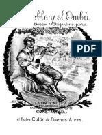 EL ROBLE Y EL OMBÚ, Zortziko de Félix García Arceluz (1869-1920)