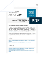 Boletim ANPOF 219