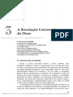 IGB - Leitura 1 a Revelação Universal de Deus - (Introdução à Teologia Sistemática, Millard J. Erickson)