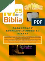preguntas y respuestas sobre la biblia