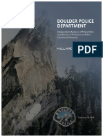 Boulder Police Department 2016 Hillard Heintze Report