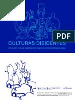 Culturas disidentes 2019