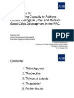 Strengthening Capacity to Address CC for Small and Medium Sized City_S Ishii