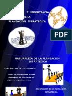 Naturaleza de La Planeacion Estrategica