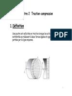 Chapitre 2 Traction-compression