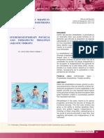 Principios físicos y terapéuticos de la hidrocinesiterapia (Terapia Acuática)