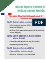 9-Transfert Residus Vers Le Lait