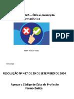 Aula 2 - Ètica e Prescrição Farmaceutica