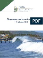 Almanaque marino-astronómico El Salvador MARN