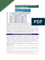 Plantilla Para Cálculo Renta de Quinta Categoría Proyectada 2017