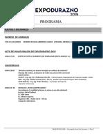 Programa Expodurazno 2019
