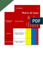 (Matriz de Impacto de Las Políticas Económicas)