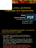 Life Long Learning Challenges and Opportunities - Kuwait