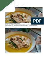 Resep sayur lodeh ala rumahan yang istimewa untuk hidangan Ramadan.docx