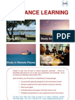 Distance Learning 2010
