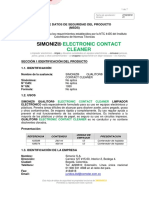 0. Msds Simoniz Qualitor Electronic Contact Cleaner