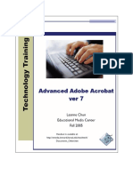 Advanced Adobe Acrobat Ver 7 User Manual