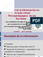 INVESTIGACION PARA EL DESARROLLO DE UNA AULA VIRTUAL