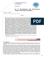 A Focused Analysis of Recruitment and Performance Management in the Import and Export Industry.pdf