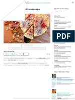 Baked Mascarpone Cheesecake _ Mad Creations Hub