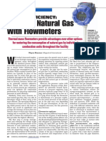 Energy EfficiEncy Tracking Natural Gas With Flowmeters_CE_Oct 2009