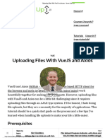 Uploading Files With VueJS and Axios - Server Side Up.pdf