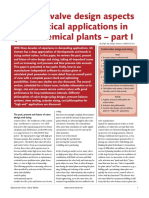 Control Valve Design Aspects for Critical Applications in Petrochemical Plants - Part 1 Valve World 2004 Part I.pdf