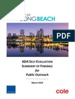 Long Beach Summary of Findings