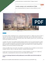 Futura Torre Mais Alta Do Mundo Começa a Ser Construída Em Dubai _ AU - Arquitetura e Urbanismo