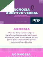 Agnosia Auditivo Verbal