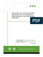 100 años de la Constitución Mexicana - De las Garantías Individuales a los DH 23(3).pdf