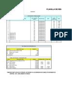 Planilla de Remuneraciones Contabilidad Segundo Ciclo