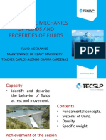 1 Study of the Mechanics of Fluids and Properties of Fluids