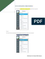 Cambio de Contraseña Corre Webmail