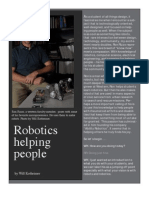Robots helping people