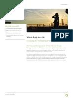 Spds 018 1601 Voice Assurance
