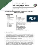 plan anual  de CTA 5° FINAL I Y II UNIDAD  2018.docx