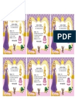 Tarjeta de Invitación Yaqui 2019 Para Imprimir