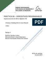 Filtro FIR reporte