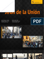 Jirón de La Unión