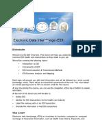 EDI Introduction
