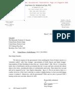 Teny Geragos letter to Judge Garaufis