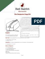 Benjamin Dopp Kit (sewing guide)