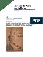 La Vida Es Sueño de Pedro Calderón de La Barca