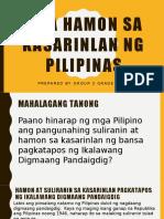 393502038 Mga Hamon Sa Kasarinlan Ng Pilipinas Group 2