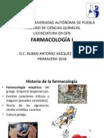 Historia - Conceptos de Farmacologia I- Absroción